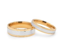 "Gold wedding rings ""VKA 322"""