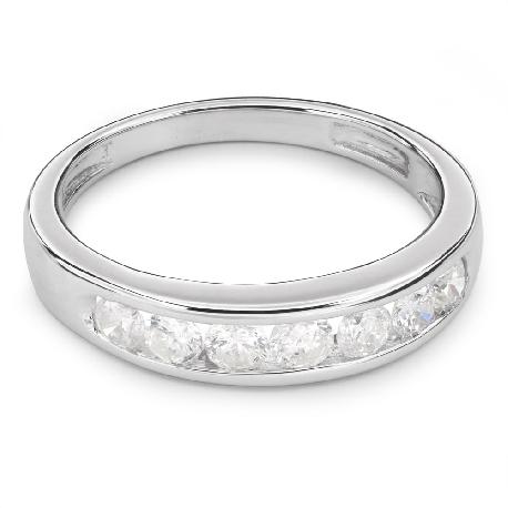 "Kultasormukset briljanteilla ""Diamond ribbon 24"""