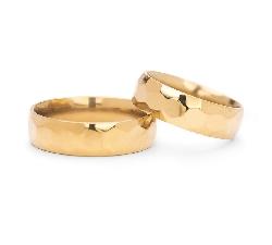 """Auksiniai vestuviniai žiedai """"VK129"""""""