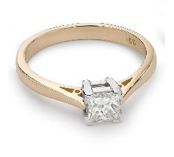"""Sužadėtuvių žiedas su Deimantu """"Princesė 42"""""""