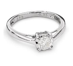 """Sužadėtuvių žiedas su Briliantu """"Mylimasis 68"""""""