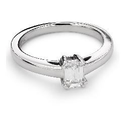 """Sužadėtuvių žiedas su Deimantu """"Tvirtybė 85"""""""