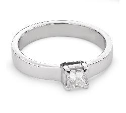 """Sužadėtuvių žiedas su Deimantu """"Princesė 52"""""""