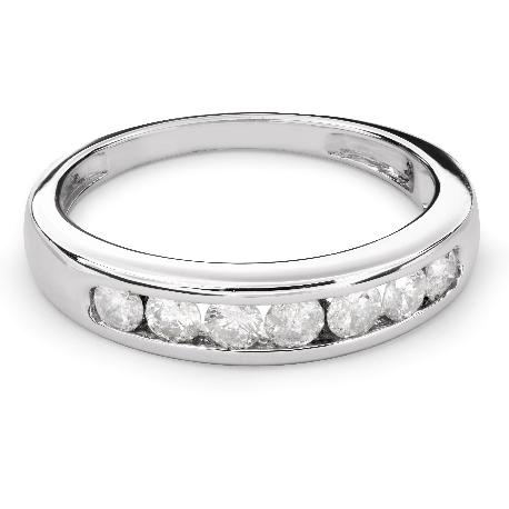 "Kultasormukset briljanteilla ""Diamond ribbon 45"""