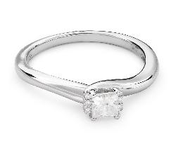 """Sužadėtuvių žiedas su Deimantais """"Princesė 53"""""""