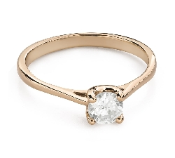 """Engagement ring with brilliant """"Goddess 150"""""""