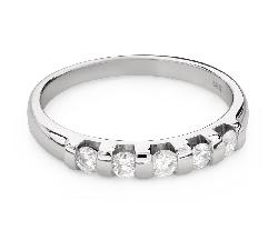 """Kihlasormukset briljanteilla """"Diamond ribbon 54"""""""