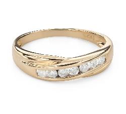 """Kihlasormukset briljanteilla """"Diamond ribbon 55"""""""