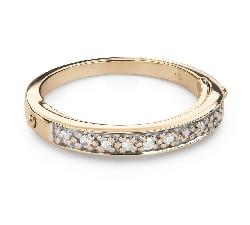 "Kihlasormukset timanteilla ""Diamond ribbon 56"""