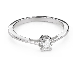 """Engagement ring with brilliant """"Goddess 205"""""""