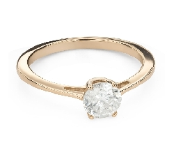 """Engagement ring with brilliant """"Goddess 219"""""""
