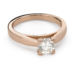 """Engagement ring with brilliant """"Unforgettable 25"""""""