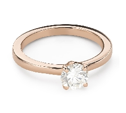 """Engagement ring with brilliant """"Goddess 246"""""""