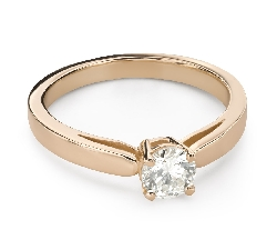 """Engagement ring with brilliant """"Strength 152"""""""
