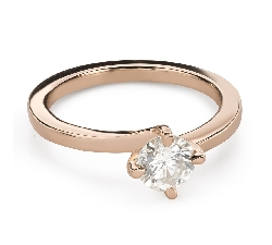 """Engagement ring with brilliant """"Hurricanes 46"""""""