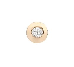 "Gold pendant with brilliant ""Classic 72"""