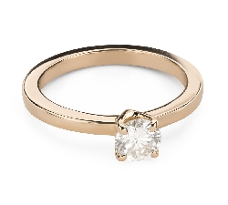 """Engagement ring with brilliant """"Goddess 250"""""""