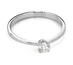 """Engagement ring with brilliant """"Purity 61"""""""